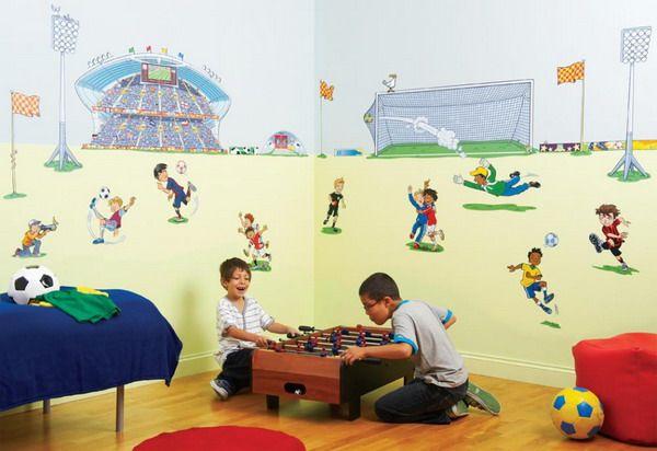 Wall Mural Inspiration U0026 Ideas For Little Boysu0027 Rooms