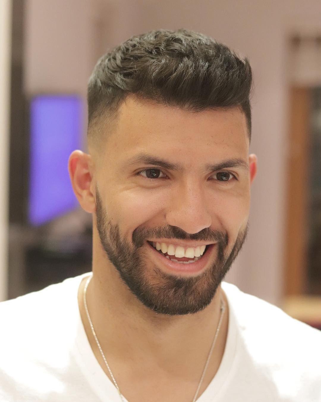 Aguero Haircut
