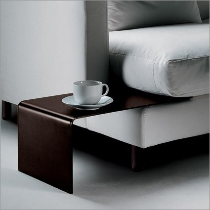 Flexform Long Island slot-in side table, hide leather £308 (ouch ...