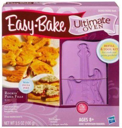 Easy bake ultimate oven refill and tool kit rockin pizza fills easy bake ultimate oven forumfinder Images