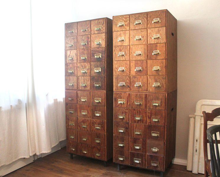Vintage Apothekerschränke von August & March auf DaWanda.com ...