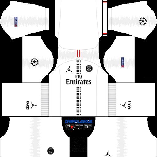 kit-PSG-dls18-away-Liga-dos-campeoes-uniforme-fora-de-casa