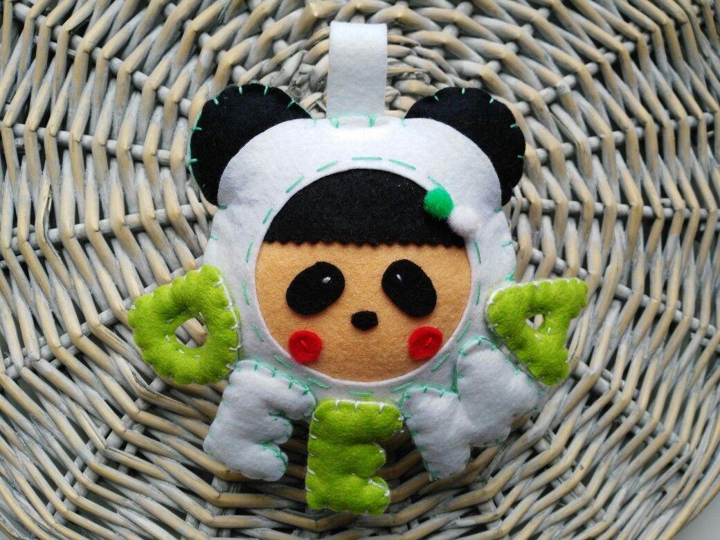 Nombre para habitación infantil panda