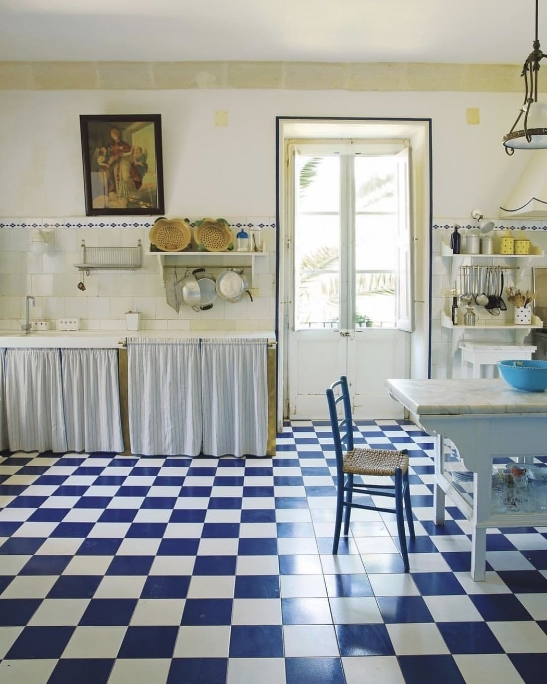 Kitchen Of Giovanni And Lucia Guarini In Puglia