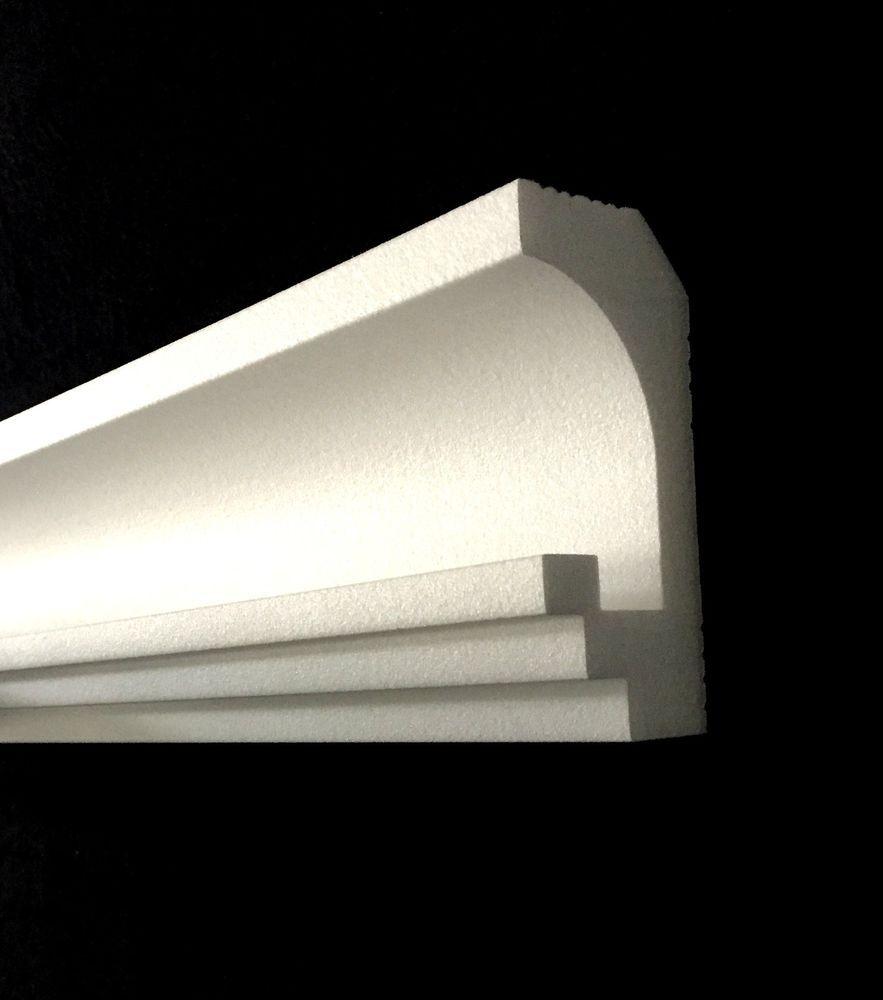 16 M Led Leiste Indirekte Beleuchtung Lichtprofil Styroporleiste 2bay005 Ebay Indirekte Beleuchtung Beleuchtung Led
