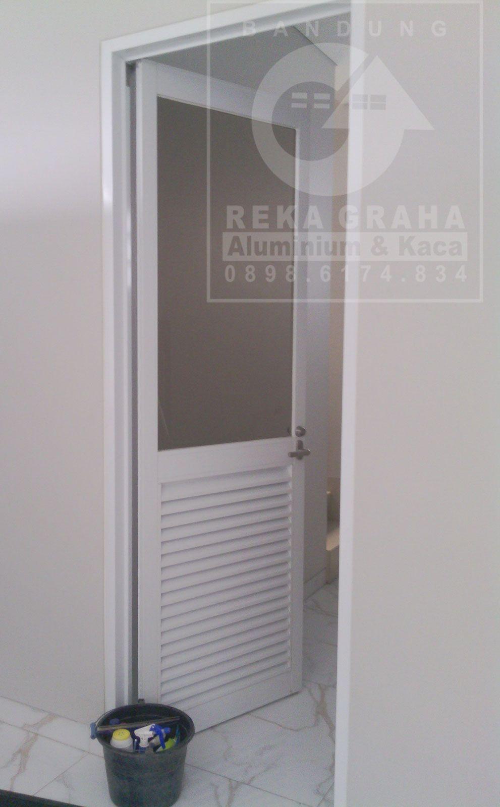 Hasil Gambar Untuk Desain Pintu R Mandi Aluminium
