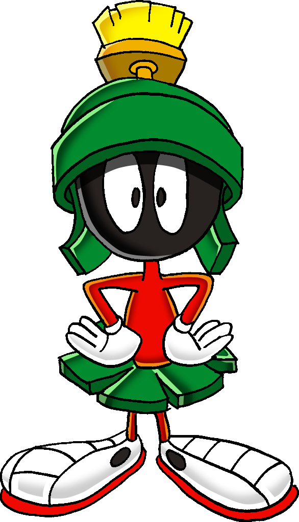 Marvin The Martian Commision By Tails19950 On Deviantart Classic Cartoon Characters Cartoon Caracters Looney Tunes Cartoons