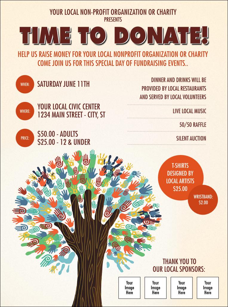 flyers for fundraiser