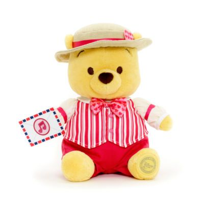 our valentine's day winnie the pooh soft toy is all dressed up for, Ideas