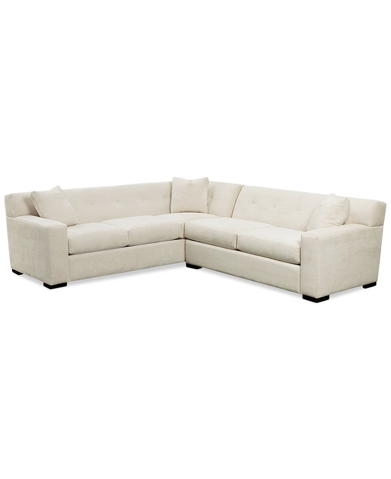 Analee 2 Piece Sectional Couches & Sofas Furniture Macy s