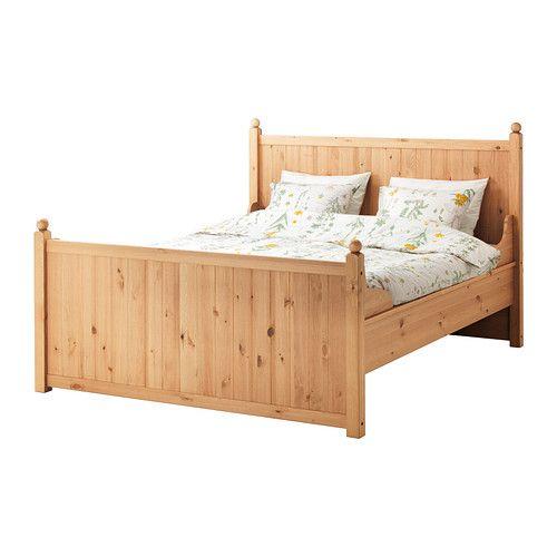 hurdal cadre de lit 140x200 cm l nset ikea dream myikeabedroom pinterest lit 140x200. Black Bedroom Furniture Sets. Home Design Ideas
