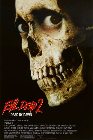 Evil Dead 2 Dead By Dawn Netflix Prime Horror Movie Posters Movie Posters Design Classic Horror Movies