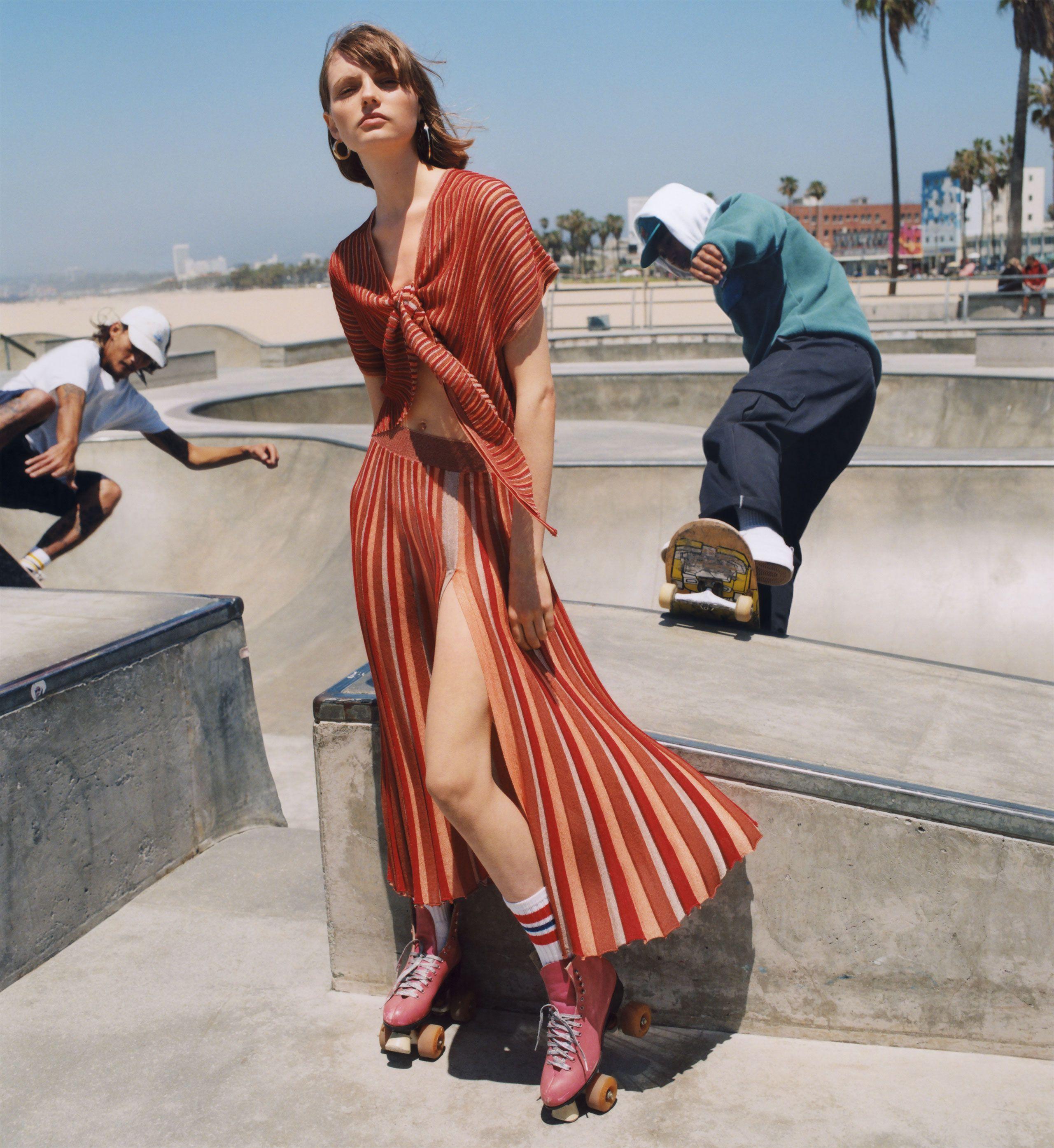 afb69578039b ZARA -  zaraeditorial - SKATE PARK - Editorial Fashion Shoot