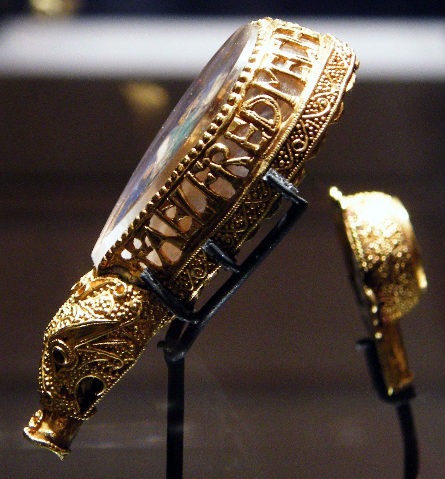 The Alfred Jewel Anglo Saxon