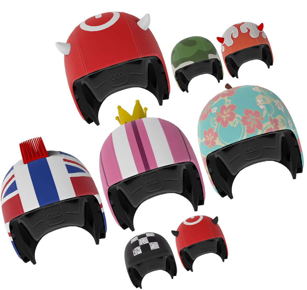 Netherlands Based Egg Helmets Enables Young Bicycle Riders To Make