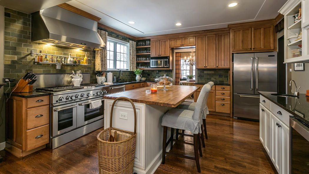 beautiful kitchen from downers grove home listing (with