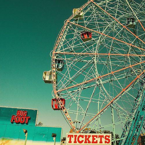 Summertime Fair Circus Photography Vintage Photography Vintage Typography