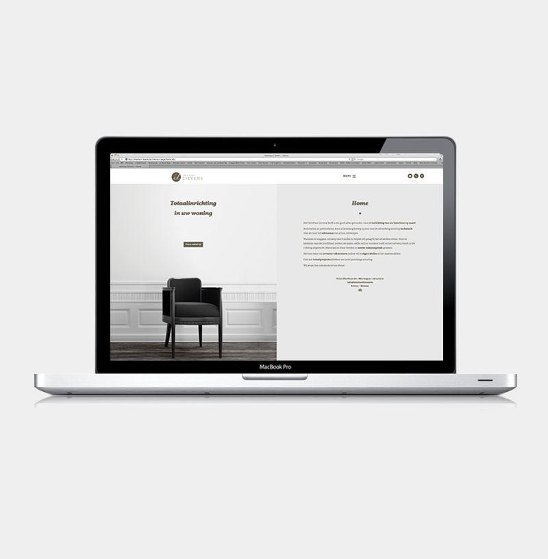 Interieur Lievens Izegem - Website realisatie - Communicatie en ...