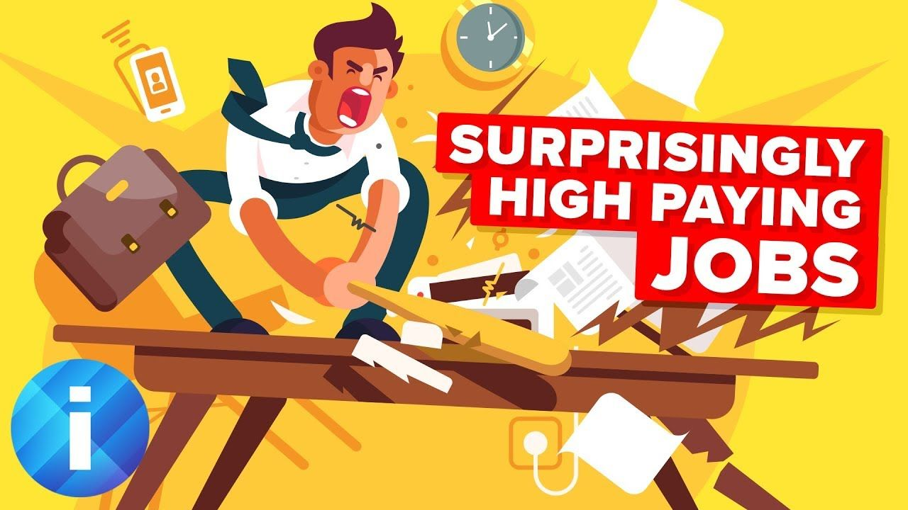 Surprisingly High Paying Jobs Compilation High paying