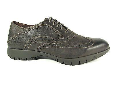 Hush Puppies Five Brogue Size 8 5 Mens Shoe Dark Gray Leather Oxfords Leather Oxfords Brogues Men Dress Shoes Men