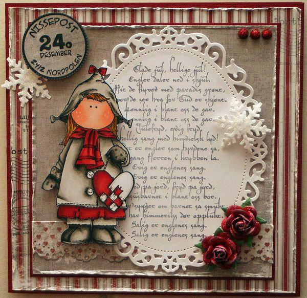 julekort.jpg | X-mass cards | Pinterest | Christmas cards, Cards and ...