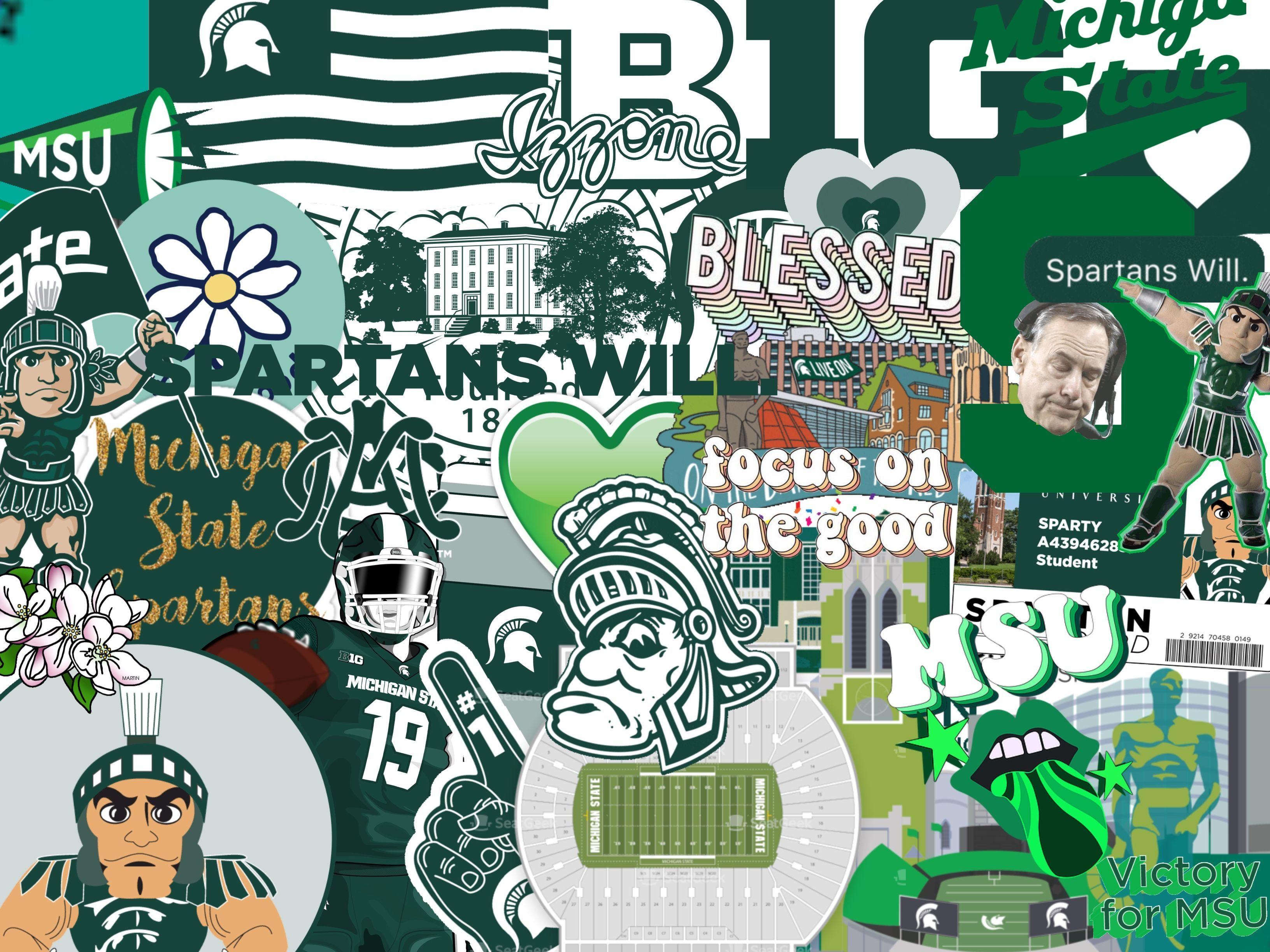 Michigan State University Aesthetic In 2021 Michigan State University Michigan State Collage Background [ 2448 x 3264 Pixel ]