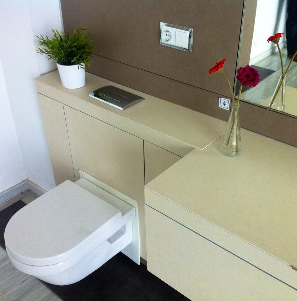 Baño modular con posibilidad de carcasas intercambiables #ReformaSinObra