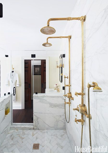 Get The Look A Bathroom Inspired By The Gilded Age Amazing Bathrooms Bathroom Design Bathroom Interior