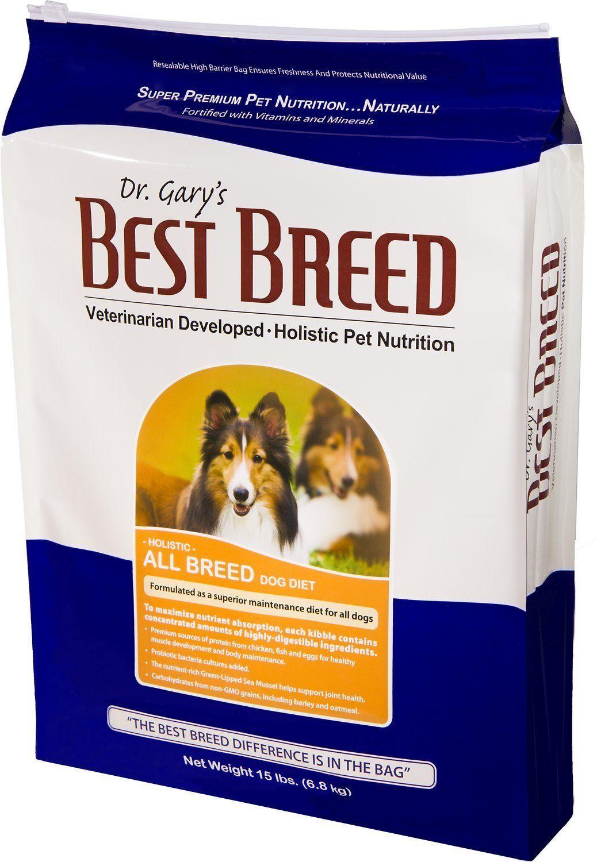 Dr garys best breed holistic all breed dry dog food 4 lb