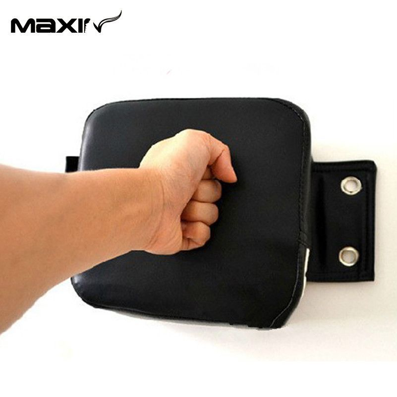 PU Leather Punching Wall Pad Kick Boxing Wall Dummy Taekowndo Training Wall Bag
