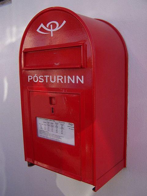 project glimpse official mail box iceland boites aux lettres originales bo te aux lettres. Black Bedroom Furniture Sets. Home Design Ideas