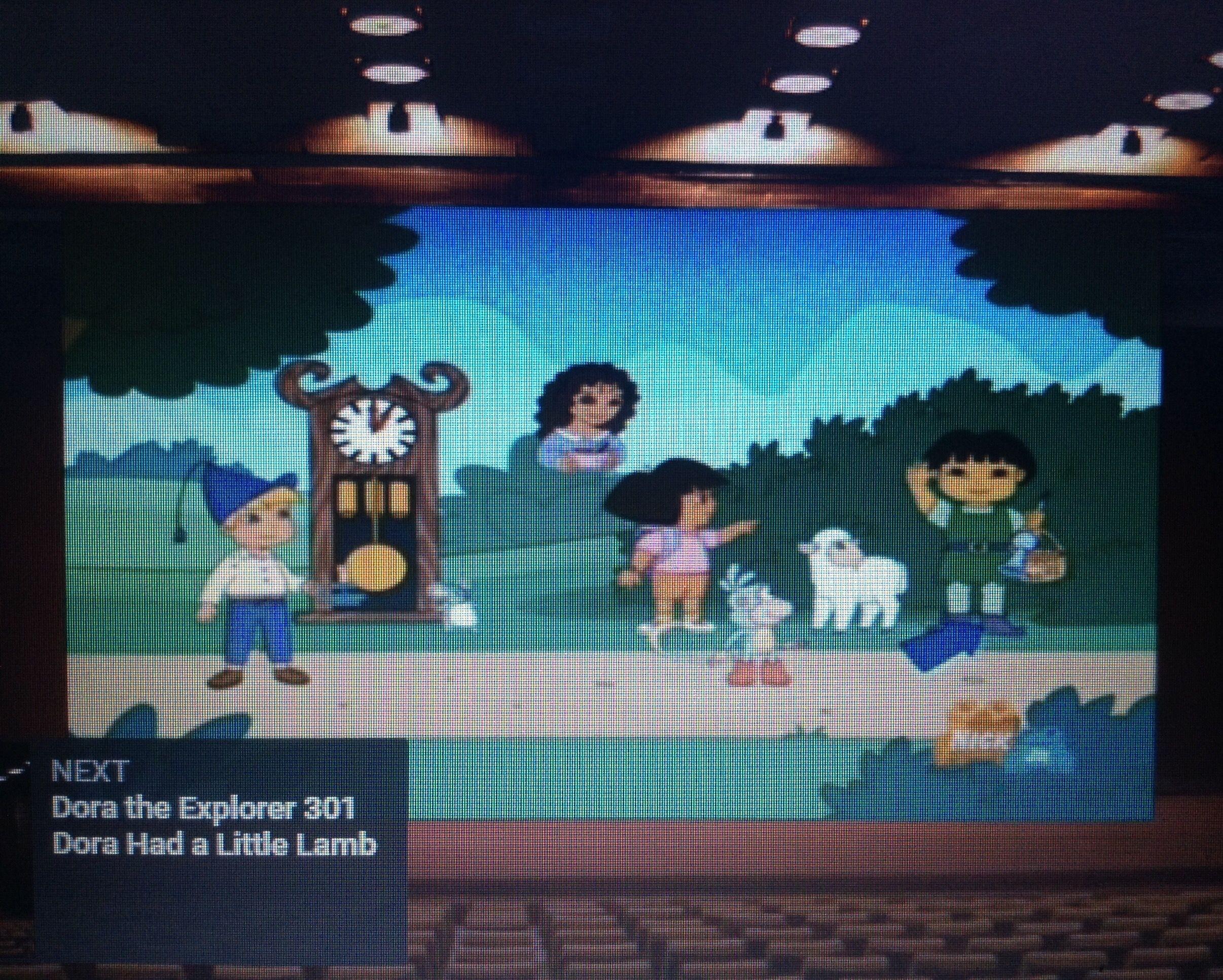 Dora The Explorer Dora Had A Little Lamb - Exploring Mars