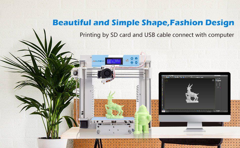 JGAURORA 3D Printer A3 Prusa i3 DIY (Temp out of stock