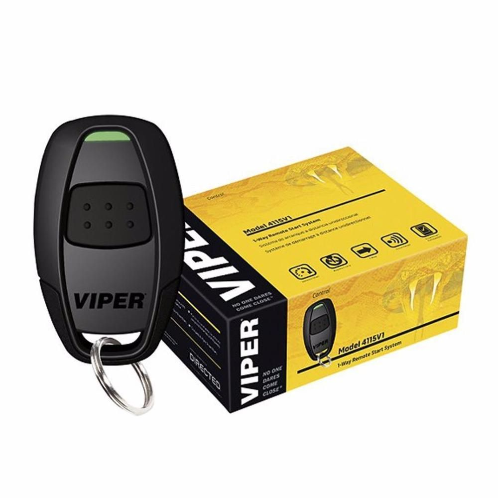 viper 4115v 1 way car security remote start system in 2019