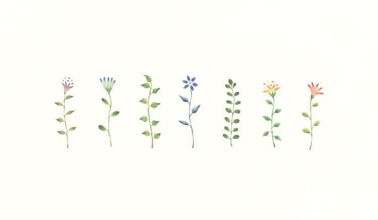 Pastel Minimalist Aesthetic Flower Desktop Wallpaper Novocom Top
