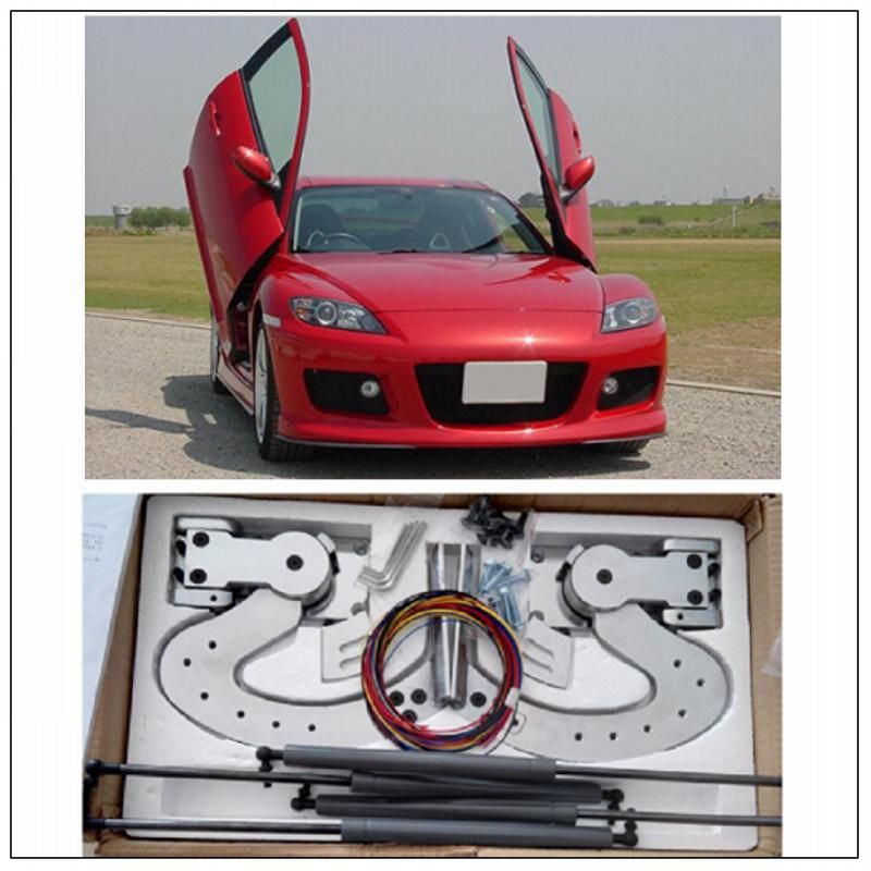 High Quality Universal Vertical Door Lambo Door Hinges Kit For