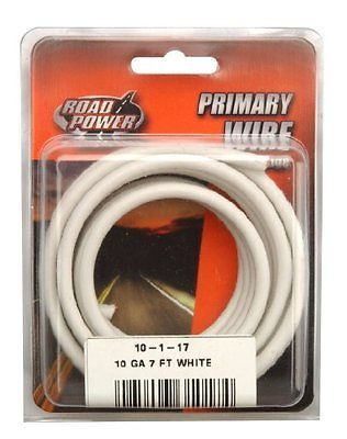 Coleman Cable 10 1 17 10 Gauge 7 Foot Automotive Copper Wire White New 10 Things Coleman Copper Wire