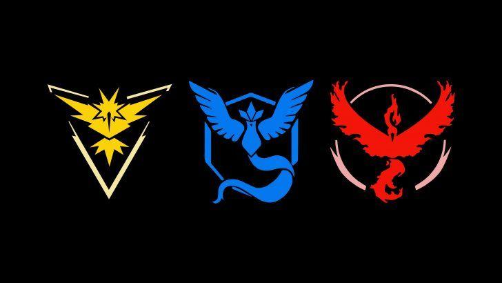 Download Pokemon Go All Teams Logo 8K Wallpaper 7680x4320