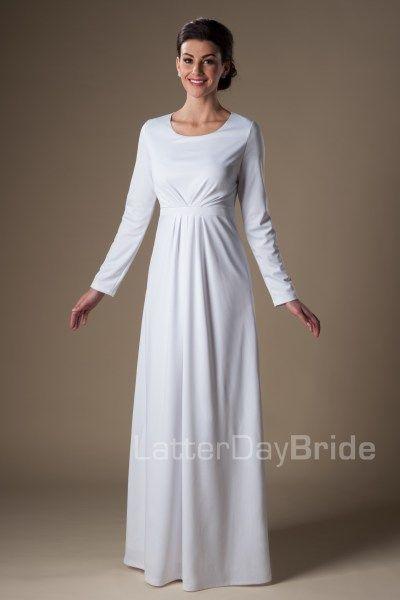 Nauvoo | LDS Temple Dress | Modest | LatterDayBride | SLC | UT ...