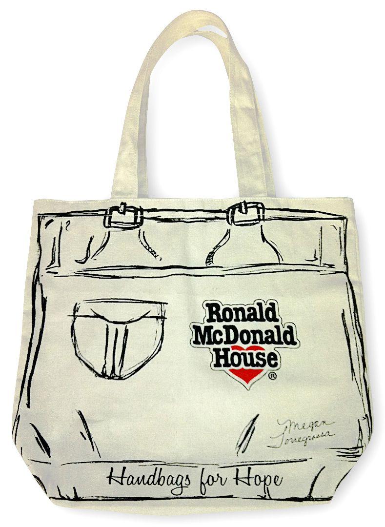 Torregrossa Sisters Lend A Helping Hand Bag To Ronald Mcdonald S Handbags For Hope Megan House
