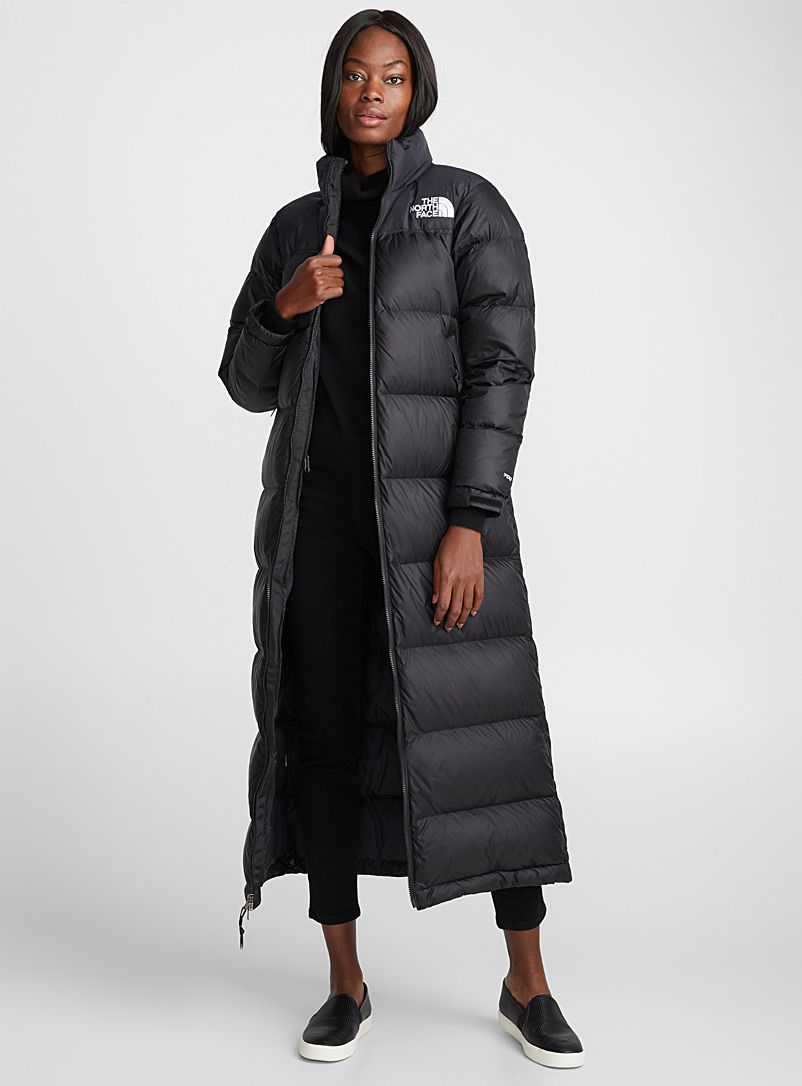 64ecfd471fe2 Nuptse down maxi puffer - Quilted and Down Jackets - Black