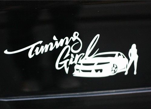 Imgs For  Jdm Car Stickers For Girls Stickers  Pinterest - Car decal sticker girl