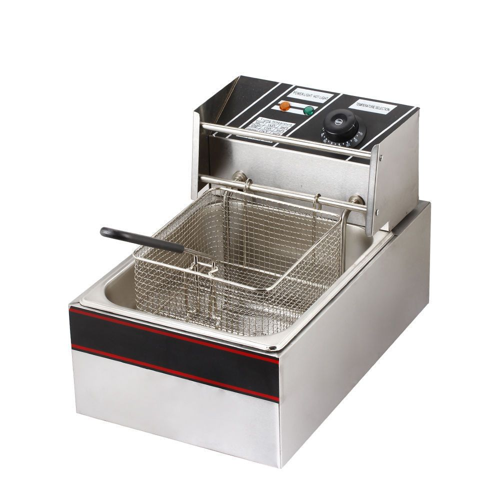 Zimtown Electric Countertop Kitchen Deep Fryer Commercial Solid