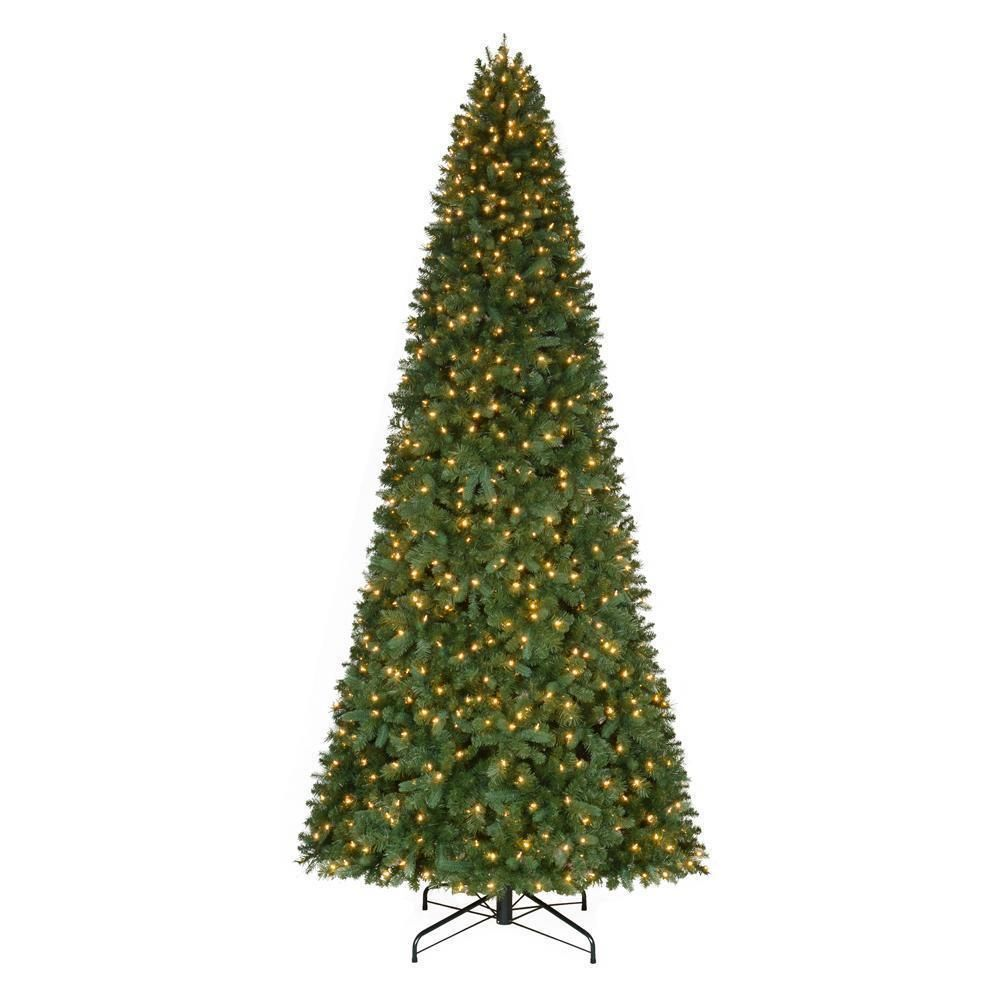 Home Accents Holiday 12 Ft LED Artificial Christmas Tree Indoor Decor Display