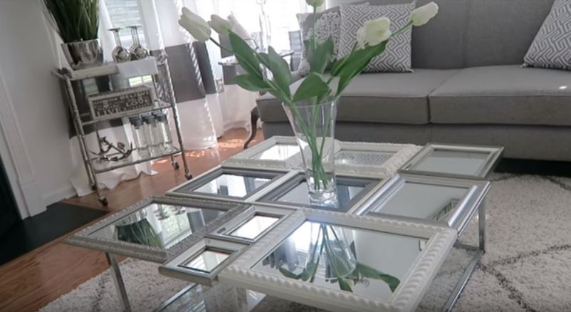 How To Make Picture Frame Coffee Table Diy Diy Coffee Table Coffee Table Picture Frames