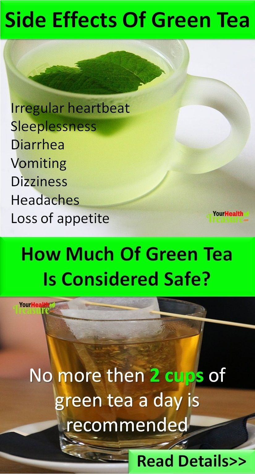 Green tea - good and bad for the body