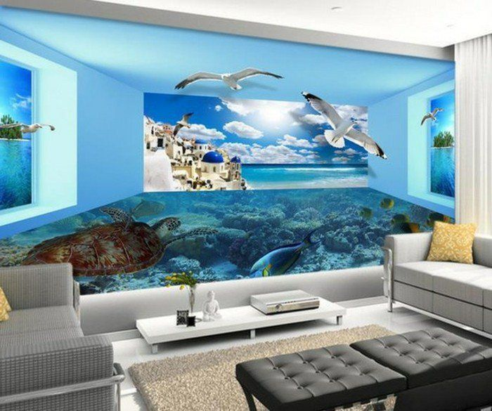 3D Tapete Für Eine Tolle Wohnung!