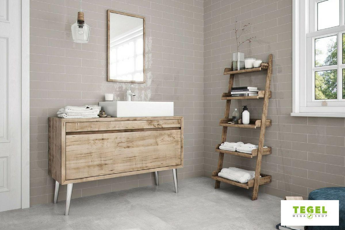 Beton look badkamer tegels voor eens moderne en eigentijdse