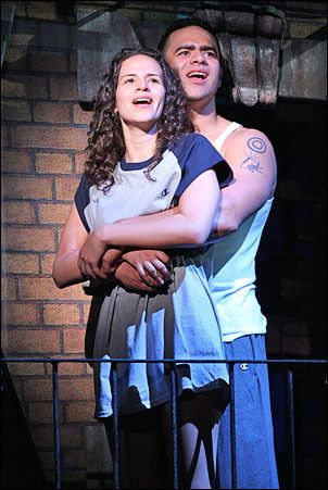 Benny And Nina In The Heights In The Heights Theatre Kid Musical Theatre Broadway