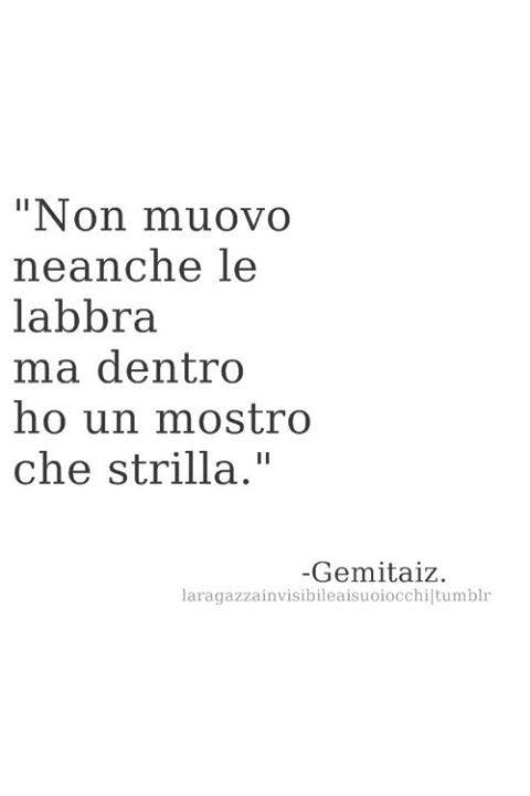 Gemitaiz Frasi Phrases Gedanken It Italian Quotes Tumblr